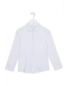 Camisa de popelín con brillantitos